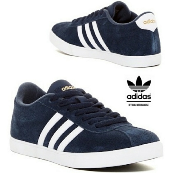 fcbef77dcf42d Adidas Courtset Womens Sneakers Size 8